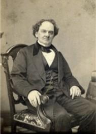 Barnum seated
